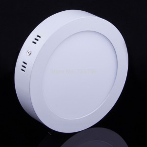 LED Surface Mounted 18W Round Ceiling Light Home Lighting Balcony Garden Yard Car Porch Daylight