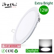 12W LED Recessed Downlight Ceiling Lamp Round Daylight