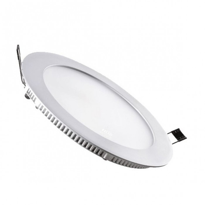 Led Ceiling Lights Daylight : W led round downlight recessed slim panel ceiling light