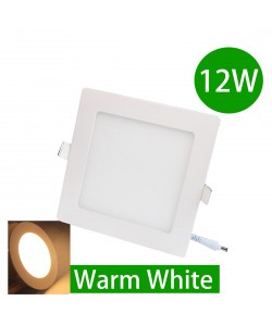 12W LED Downlight Ceiling Recessed Light Warm White