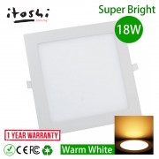 18W LED Lights Ultra Thin Recessed Downlight Ceiling Light Warm White