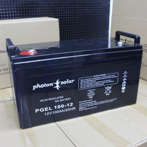 12V 100Ah Solar Battery High Capacity Gel Type