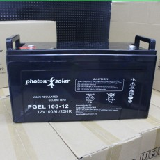 12V 100Ah Deep Cycle Battery Gel Type PGEL 100 12 Solar Battery Energy Bank Power Supply