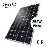 250W Mono Solar Panel Module Grade A Cell Solar Power