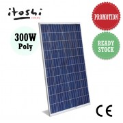 300 Watt Solar Power Panel Module Polycrystalline Energy Saving