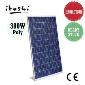 300W Solar Power Panel Module Polycrystalline Energy Saving