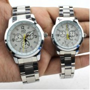 Elegant Couple Watches Accessories (White)