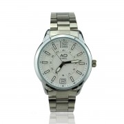 AD STEEL Water Resistant Stainless Steel Watches Men Gentleman  (White)