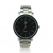 High Quality Stainless Steel Men's Watches (Black)