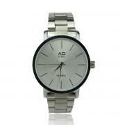AD STEEL Men Watch Quartz Smart Fashion (Silver)
