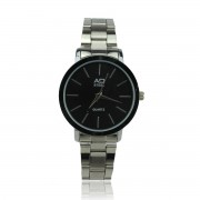 AD STEEL Women High Quality Stainless Steel Watches (Black)