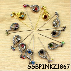 Colourful Pin Shawl Jewelry [24pcs]