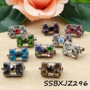 [10pcs] Square Shape with Floral Baby Brooch Kerongsang