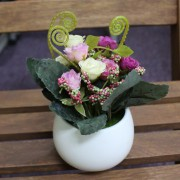Artificial Rose Decorative Gift for Hotel Lobby Office