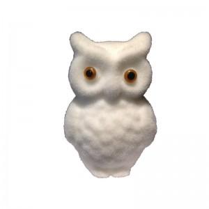 Animal Bird Design Decor Owl Artificial Turf Grass Hedge Topiary