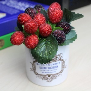 Berries With English Designed Artificial Berry In The Pot