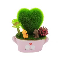 Home Decorative Love Sweet Couple Pot Decor Special Gift