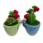 Cups of Love Home and Office Decorative - 4 pcs per set