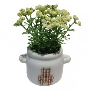 Home And Office Decoration - Cute Ear Urn with Put Muk Flower