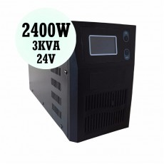Pure Sine Wave Inverter 2400W 24V PSC-V Solar Power System DC AC for Home Factory Plantation Solar Farm Energy Equipment