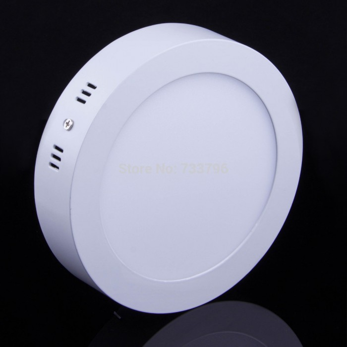 Led Ceiling Lights Daylight : Led surface mounted w downlight concrete cement ceiling