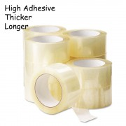 90 rolls 50m 45mm OPP Tape Transparent Full Length Selefon Tape