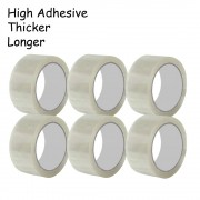 100 meter OPP Tape Packing Seal Tape 45mm 50 Microns 6 rolls