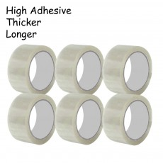 100 meter OPP Tape Packing Seal Tape 45mm 50 Microns 6pcs