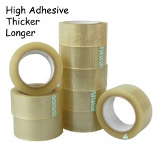 72pcs OPP Tape 100 meters 45 mm 50 micron Selefon Tape Masking Tape