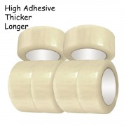 24 Rolls OPP Tape 45mm x 100m Clear Adhesive Tape