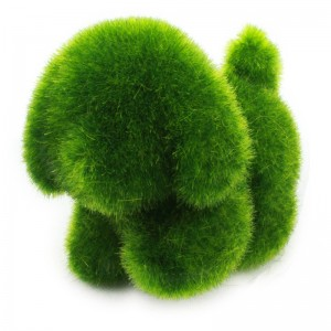 Cute Grass Land Topiary Squirrel