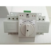 Home Energy Circuit Switches 240V 63A 2 Poles ATS Solar Energy Equipment