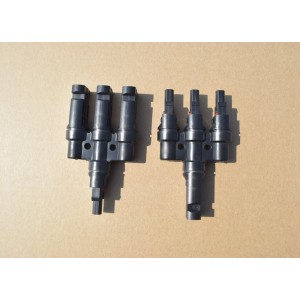 MC4 Connector 3 to 1 T Branch for Solar Panel Connection PV Module Connect Panel Solar System