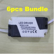 LED Driver Ceiling Light Transformer 8 - 18W 6pcs Bundle