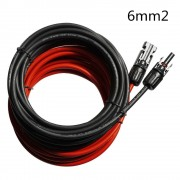 15M Solar PV Cable 6mm2 with MC4 Male and Female connector for Solar Cable Extension