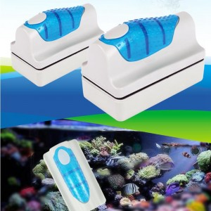 Magnetic Aquarium Fish Tank Glass Cleaner Floating Brush Algae Scrapper Cleaning Tools