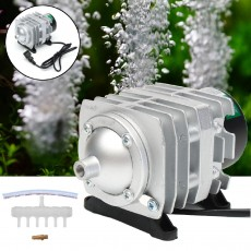 HAILEA 55L 30W Electromagnetic Air Compressor Aquarium Oxygen Pond Air Pump Aerator ACO-308