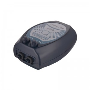 Adjustable Flow Silent Aquarium Air Pump Fish Tank Oxygen Air Pump Dual Output Control ACO-6603