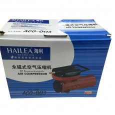HAILEA Electromagnetic Air Compressor Oxygen Pump Aquarium Pond ACO-003 DC12V 60L