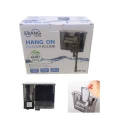 EBANG Hang On Filter Aquarium Fish Tank Hanging Filter 380 L Dophin EB-02