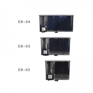 EBANG Hang On Filter Aquarium Fish Tank Hanging Filter 380 L Dophin