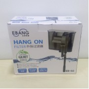 4W EBANG Hang On Filter Aquarium Fish Tank Hanging Filter 380 L Dophin