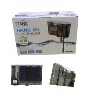 EBANG Hang On Filter Aquarium Fish Tank Hanging Filter 480 L Dophin EB-03