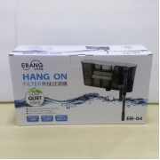 6W EBANG Hang On Filter Aquarium Fish Tank Hanging Filter 580 L Dophin