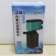 15W EBANG 3 In 1 Filter Oxygen Pump Aquarium Fish Tank 850 L