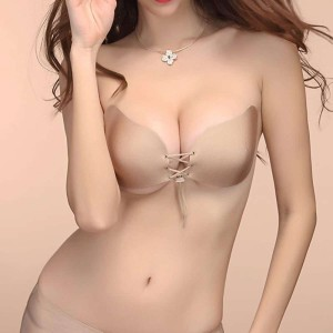 Nubra Seamless Adhesive V Bra Push Up Bra Nu Bra Pushup Wedding Bra