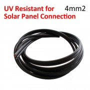 2 x 4 Meter Solar PV Panel Cable Extension UV Resistance 4mm2