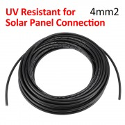 2 x 12 Meter 4mm2 Solar cable UV Resistance for PV Connection