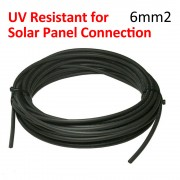 2 x 12 Meter PV Solar Panel Extension Wire UV Protection 6mm2 PV Cable