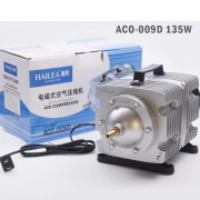 Hailea ACO 009D Air pump Air Compressor 125L 135W  Electromagnetic 12 Air Outlet Oxygen Fish Tank Aquarium tank